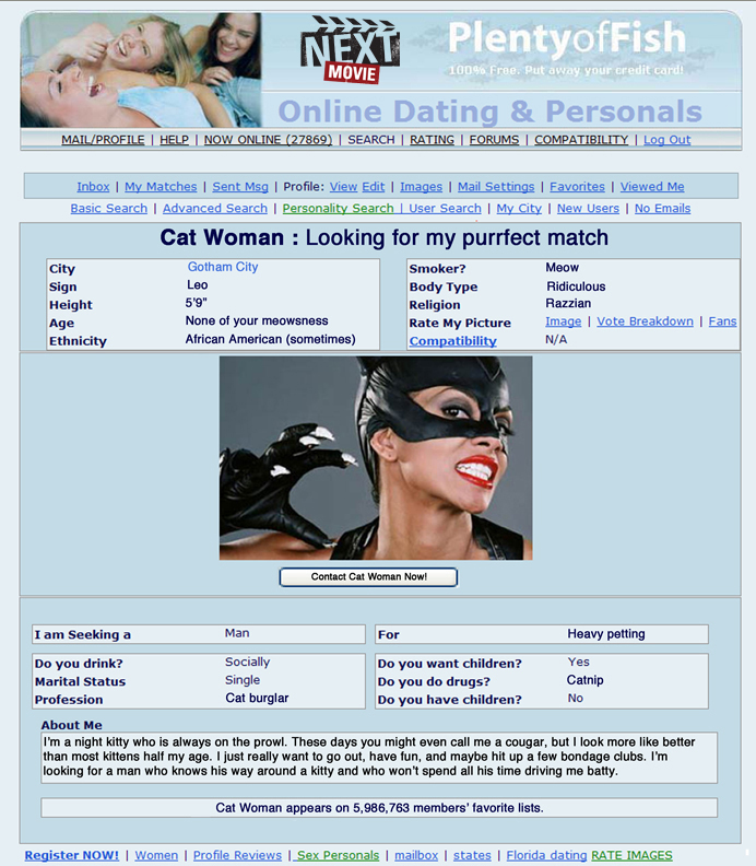 dating site girl who loves cats debate against online dating