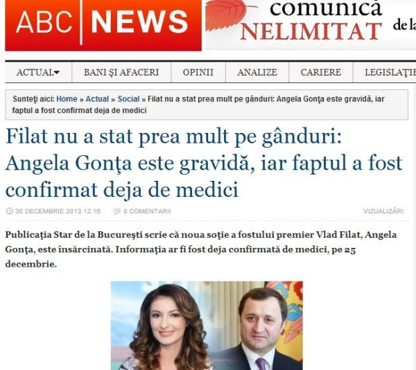 Știrea pe ABCNews