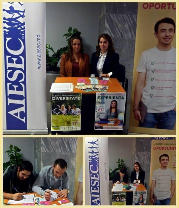 AIESEC lam USM PC: AIESEC Chișinău